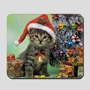 Precious Christmas Cat Mousepad