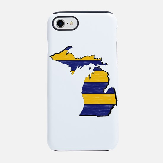 FOR MICHIGAN iPhone 7 Tough Case