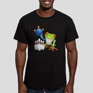 Tree Frog Men's Fitted T-Shirt (dark)