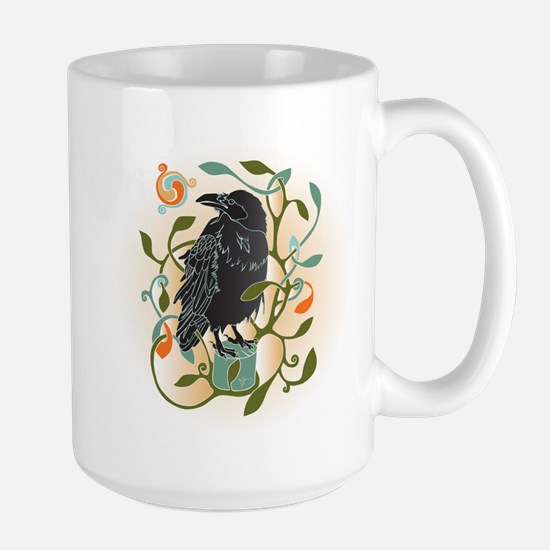 Celtic Crow Mugs