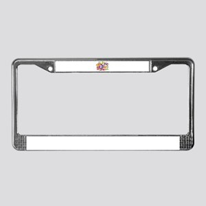 Candy Waters Autism Artist License Plate Frame