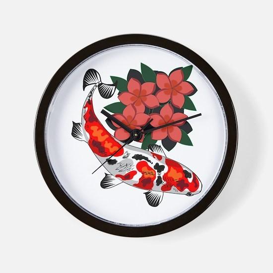 KOI BLISS Wall Clock