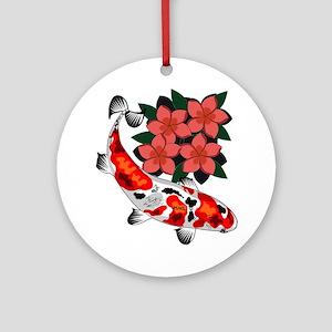 KOI BLISS Round Ornament