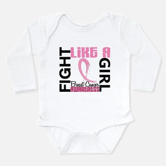 Licensed Fight Like a Girl 3.3 Infant Bodysuit Bod