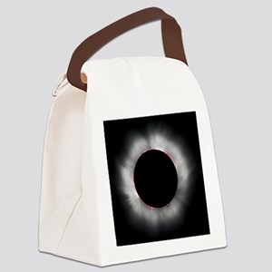 Total Solar Eclipse 1999 Canvas Lunch Bag