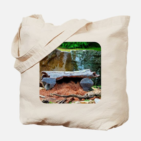 Grandfather Mountain Otter Den I Tote Bag