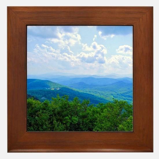 Grandfather Blue Mountain XXX Framed Tile