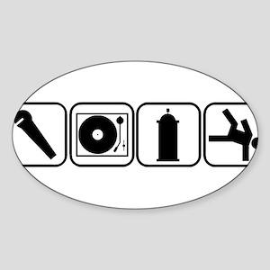 Elements of Hip Hop Sticker