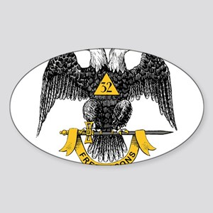 32_eagle_hi_res_Freemasons Sticker