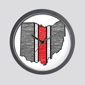 FOR OHIO Wall Clock
