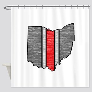 FOR OHIO Shower Curtain