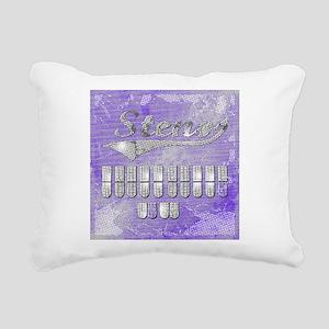 eat_drink_sleep_3 Rectangular Canvas Pillow