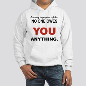 CONTRARY TO POPULAR OPINION Hoodie
