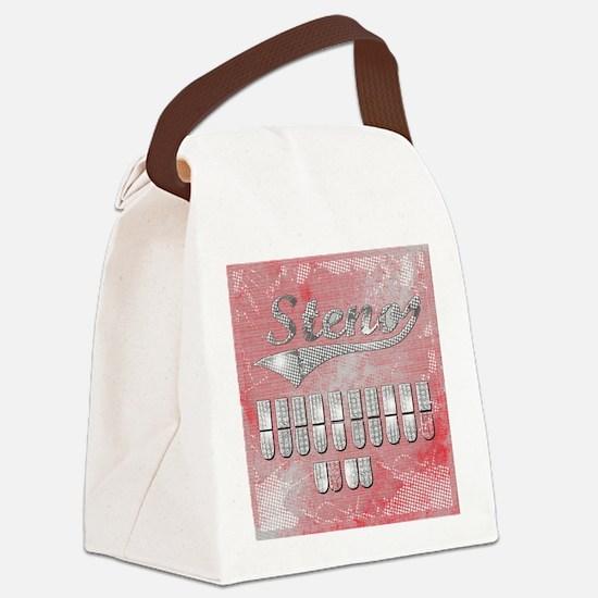 eat_drink_sleep_3 Canvas Lunch Bag