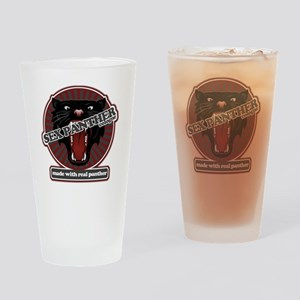 Sex Panther Drinking Glass