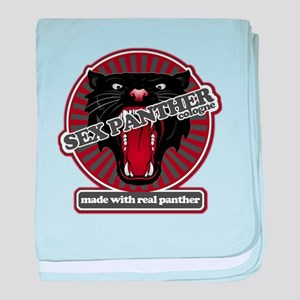 Sex Panther baby blanket
