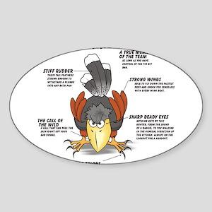 The Harris Hawk Sticker