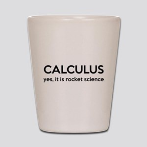Calculus Is Rocket Science Shot Glass