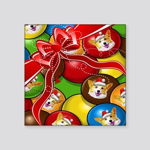 Corgi Candy Present Sticker