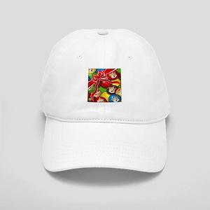 Corgi Candy Present Baseball Cap