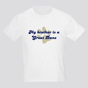 My Brother is Great Dane Kids Light T-Shirt