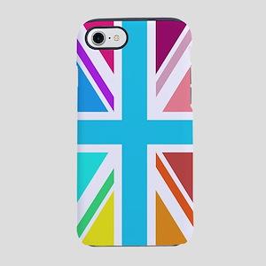 Multicol Union Jack/Flag iPhone 7 Tough Case