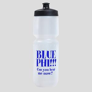 Blue Phi!! Sports Bottle