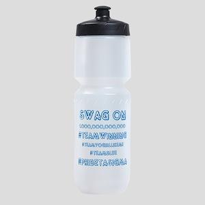 Phi Beta Sigma swag on Sports Bottle