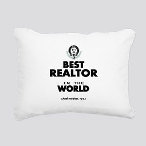 The Best in the World Realtor Rectangular Canvas P