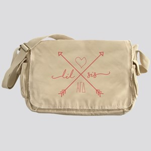 Alpha Gamma Delta Little Arrows Messenger Bag