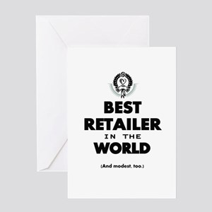 The Best in the World Retailer Greeting Cards