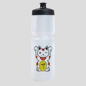 Lucky Cat Sports Bottle