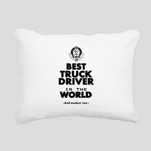The Best in the World Truck Driver Rectangular Can