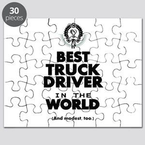 The Best in the World Truck Driver Puzzle