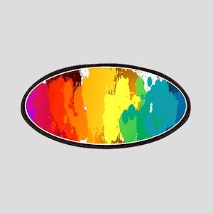 Rainbow Splatter Patches