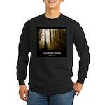 Foggy Forest Morning - Dark Long Sleeve T-Shirt