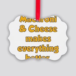 Mac Cheese Ornament