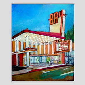 Bay Theater, Pacific Palisades Small Poster