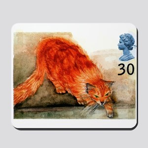 1995 Great Britain Ginger Cat Postage Stamp Mousep