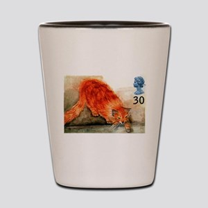 1995 Great Britain Ginger Cat Postage Stamp Shot G