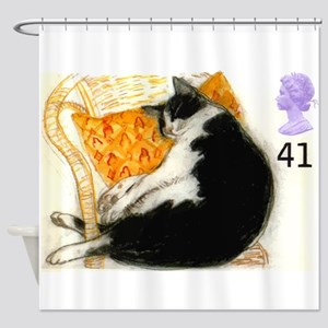 1995 Great Britain Sleeping Cat Postage Stamp Show