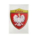 Poland Metallic Shield Magnets