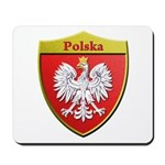 Poland Metallic Shield Mousepad