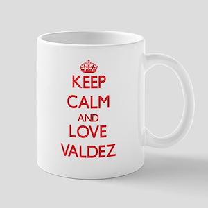 Keep calm and love Valdez Mugs
