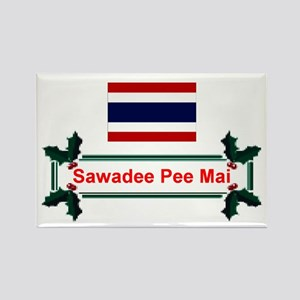 Thai Sawadee... Rectangle Magnet