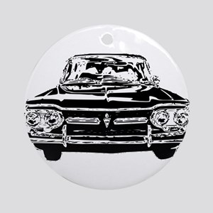 Early Corvair Ornament (Round)