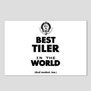 The Best in the World Tiler Postcards (Package of