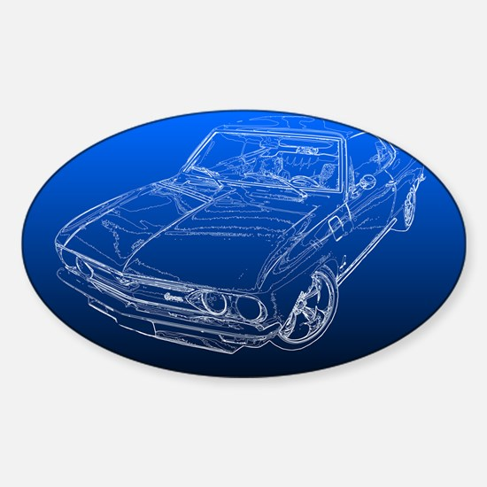 Late Model Corvair Decal