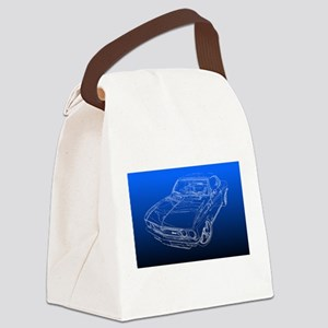Late Model Corvair Canvas Lunch Bag