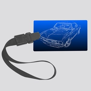 Late Model Corvair Luggage Tag